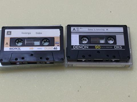 Sony Duad 46, Denon DX5 (ともにType III Fe-Cr)